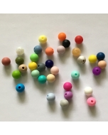 10pcs 9mm Round Silicone Beads 100% Food Grade Silicone Beads Baby Chewable Pacifier Beads Cheap Silicone Beads
