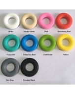 1 piece Silicone Donut Bead Free BPA Silicone Bead Food Grade Silicone Bead Little Donut Silicone Bead Baby Teething Ring