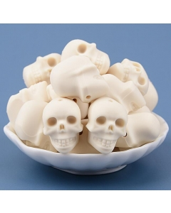 10pcs silicone skull beads Halloween silicone beads 100% food grade silicone beads
